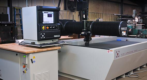 Waterjet Machining | B&S Machine Tool